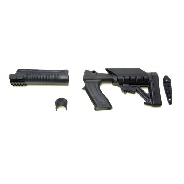 Archangel 870 Tactical Shotgun Stock System (Remington 870) - Black Polymer